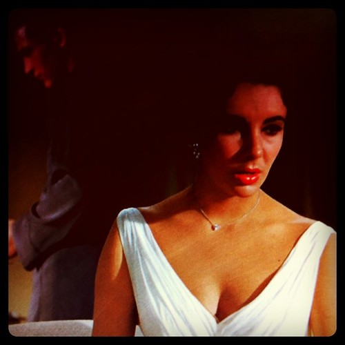 Cat on a hot tin roof #liztaylor