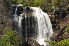 Upper Whitewater Falls (Mark VanDyke Photography) Tags: march waterfall whitewaterriver whitewaterfalls jacksoncounty westernnorthcarolina transylvaniacounty jocasseegorges