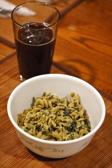 Pasta and Beer!