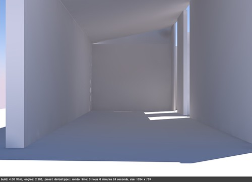 Empty room in Sketchup