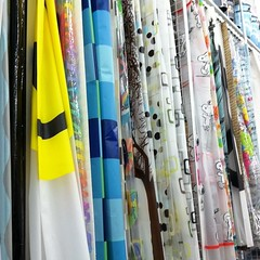 I admit, I am clueless in picking out a shower curtain.