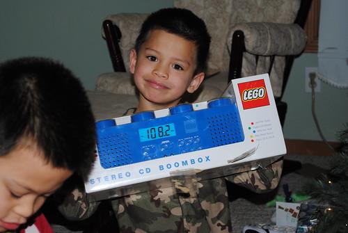 Lego radio.