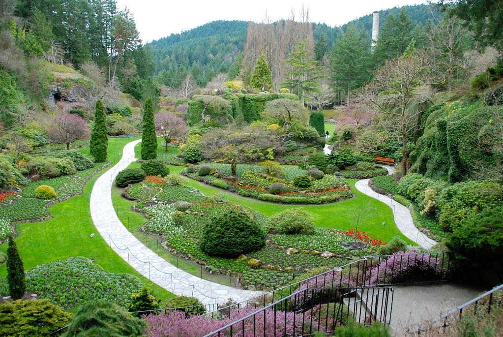 {Butchart Gardens} Sunken Garden