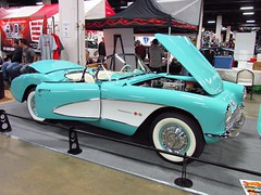 2011 World of Wheels in Boston (mike01905) Tags: worldofwheels boston 2011worldofwheels 1957 chevrolet chevy corvette