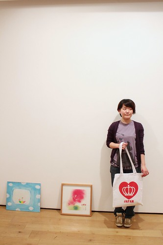 Midori With QOS Loves JAPAN Tote #prayforjapan