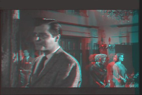 House on Haunted Hill 3D anaglyph