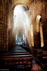 Sé do Porto (- GD photography -) Tags: light luz portugal do interior catedral sé porto vacaciones oporto 2010
