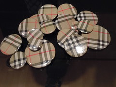 Tobias Wong (1974-2010): Unauthorized Burberry Buttons (sftrajan) Tags: sanfrancisco california modernart sfmoma sanfranciscomuseumofmodernart 2011 tobiwong tobiaswong paradesignexhibit donaldtobiaswong