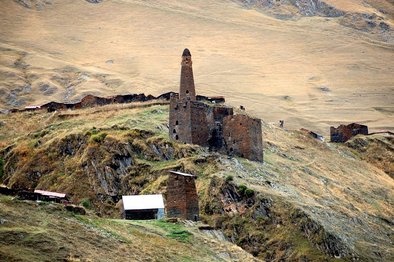 Defense tower in Tusheti