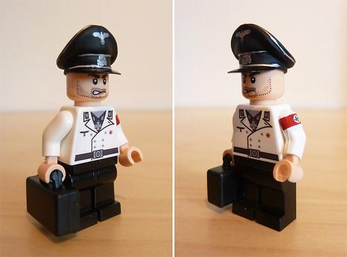 Custom minifig WWII German NSDAP Elite Officer