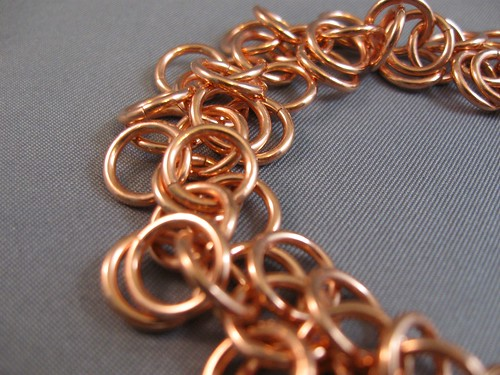 Shaggy Loops Confetti Copper Bracelet artsy