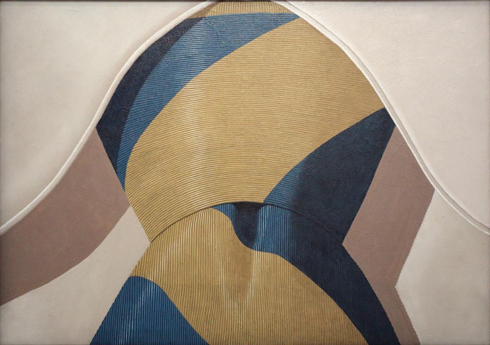 Domenico Gnoli, Tie, 1969