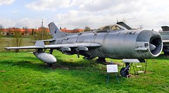 MiG-19PM (1953) (The Adventurous Eye) Tags: museum fighter aircraft 19 mig gurevich mikoyan mig19 kunovice mig19pm theflyingthings