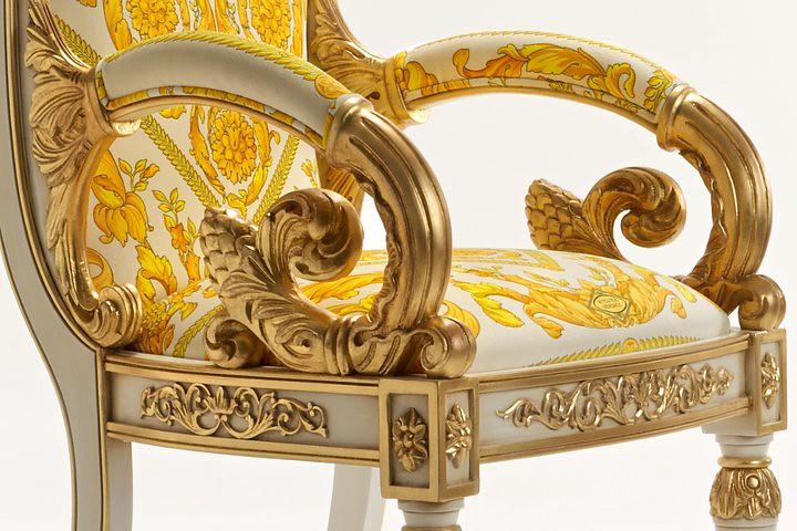 04 Vanitas Armchair por Official Versace