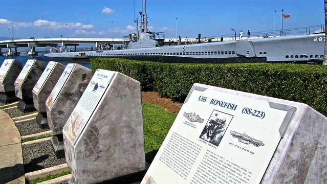 Pearl Harbor, Honolulu, Oahu, Hawaii, USS Bowfin, submarine