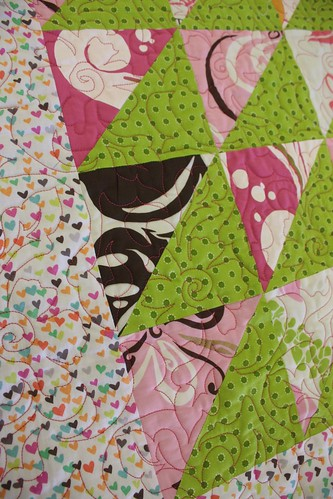 Aloha Baby Quilt detail