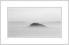Green Island, Otago (focophotography) Tags: newzealand blackandwhite mist otago greenisland