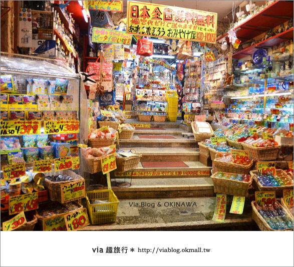 【沖繩必買】跟via到沖繩國際通+牧志公設市場血拼、吃美食!7