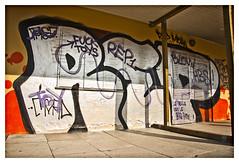 REP/Skydebanen (fonzi74/gbCrates) Tags: street city urban streetart west art by copenhagen grit denmark graffiti town paint raw alt kunst tag graf rep tags gritty can spray v western gb rough cph aerosol revolutionary vesterbro danmark westend ruff christensen emil alternative crates chr spraycan frederik grimey grimy tagz alternativ skydebanen revolutionær høyer fonzi74 gbcrates høyerchr sprøjtemaling