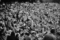 Open Air Cinema (www.marcel-sauer.de) Tags: people blackandwhite bw white black slr film analog silver germany munich mnchen fun deutschland 50mm asahi bokeh diary oldschool retro depthoffield 17 manual grainisgood tagebuch wideopen celluloid spiegelreflex revueflexac2 bigaperture filmisnotdeaditjustsmellsfunny bokehwhores marcelsauer filmlovers asahismcpentaxm11750mm monochromedof buyfilmnotmegapixels anal