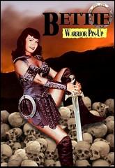 Bettie Page : Warrior Pin Up (DarkJediKnight) Tags: humor betty page parody xena bettie lucylawless warriorprincess