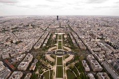 Eiffel Tower from the Top 06