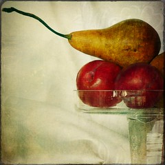 A fresh approach.. (Sunday's child) Tags: stilllife texture pears queensland picnik freshfruit macrmondays thishasbeensolongcomingitsmynewfavourite jerryjonesskeletalmess finallytheeagleofinspirationhaslanded