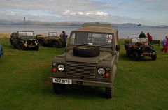 (Zak355) Tags: club jeeps 4x4 landrover exmilitary rothesay isleofbute willysjeep exarmy