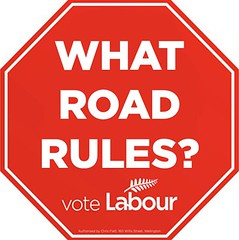 Labour ignores Road Rules