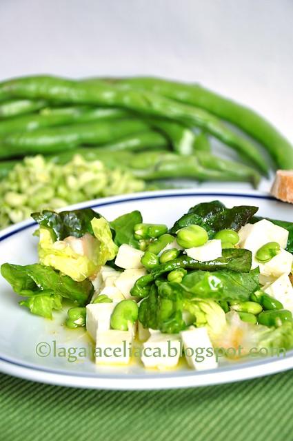 insalata baccelli e pecorino