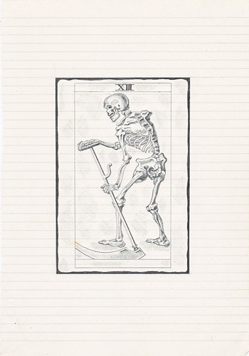 Zavier Ellis 'Black Magic 3', 2010 Pencil on paper 25.2x17.6cm
