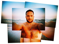 fragmented self #1 (lomokev) Tags: bear gay sea portrait selfportrait man sexy male beach beard person necklace lomo lca xpro lomography crossprocessed xprocess brighton nipple chest lomolca jewellery human montage goldenhour lomograph lomokev kevinmeredith nippels gaybear deletetag flickr:user=lomokev flickr:nsid=40962351n00 lomographyxpro200 posted:to=tumblr file:name=110405lomolca200xpro0001100015edit roll:name=110405lomolca200xpro