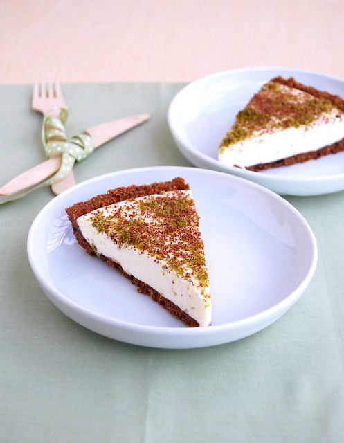 Chocolate lime pie / Torta de limão e chocolate
