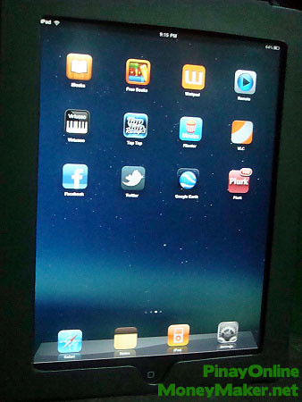 The Apple iPad I won from Sulit's blog contest - PinayOnlineMoneyMaker.net
