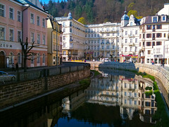 Karlovy Vary on the Phone (youngrobv) Tags: apple phonepic 3gs iphone karlovyvary chechrepublic img0701