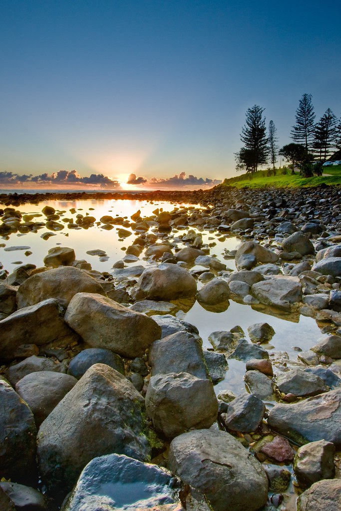 15/52 - Burleigh Heads @ Sunrise