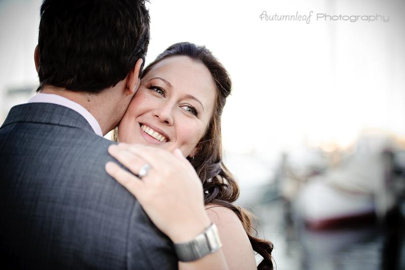 Julia & Sean's Wedding - Romance on at jetty