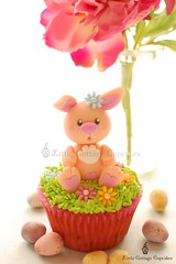 My Sweetie Bunny! (Little Cottage Cupcakes) Tags: rabbit bunny grass easter cupcakes egg easterbunny easteregghunt fondant easteregg sugarpaste littlecottagecupcakes