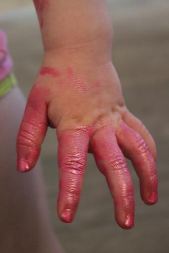 the hello kitty nail polish incident