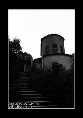Monistrol de Monserrat (PIXELMAO) Tags: spain arquitectura torre montserrat catalua escaleras abadia