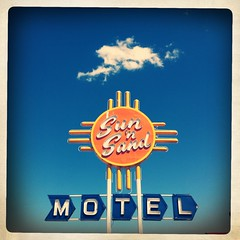 Sun 'N Sand Motel - Route 66 (Hipstamatic) (TooMuchFire) Tags: signs newmexico typography route66 neon desert signage santarosa neonsigns motels mobilephonephotos cellphonepics iphone tejas oldsigns vintagesigns vintageneonsigns cellphonephotos oldmotels mobilephonepics mobilesnaps sunnsandmotel iphone4 oldneonsigns iphonepics iphonephotos route66newmexico iphoneography iphoneographie sunsandmotel hipstamatic inas1969 toomuchfire tejaslens