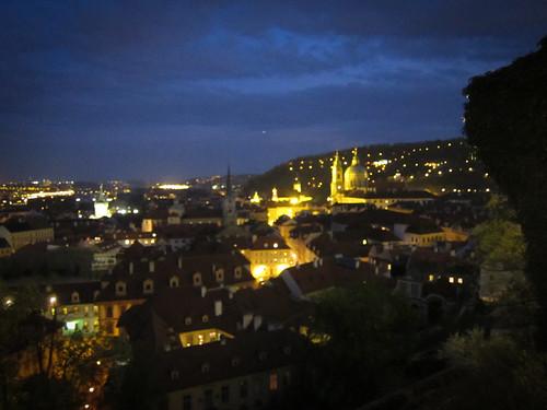 Praha, Night