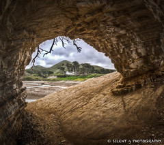 Morning Revisit (Silent G Photography) Tags: california ca morning beach landscape lososos fisheye montanadeoro spoonerscove f22 keyhole hdr highdynamicrange sanluisobispo mdo lightroom montanadeorostatepark photomatix colorefexpro nikkor105mmf28fisheye niksoftware highdynamicrangephotography nikond7000 markgvazdinskas silentgphotography