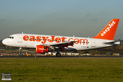 G-EZDL - 3569 - Easyjet - Airbus A319-111 - Luton - 101116 - Steven Gray - IMG_4584
