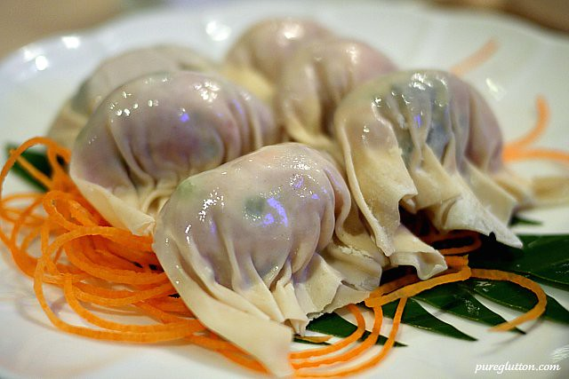 watercress dumplings