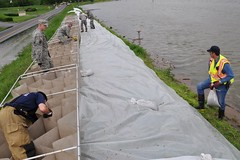 2113th Transportation Company flood relief mission in Western Kentucky