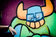 Close-up of BBoy El Toro (aRKS33) Tags: old school festival graffiti dc washington frost sticky el international