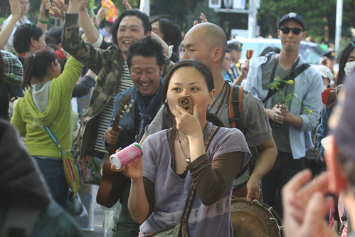 Antinuclear Protests in Tokyo, April 2011