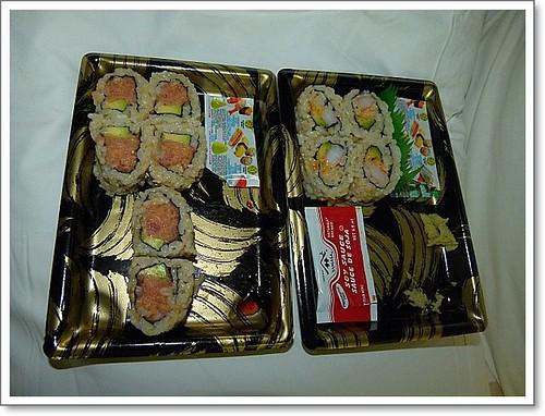 Sushi satt