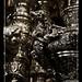 Detalle de una de las jarras del Paso de Palio de María Stma. de la Amargura